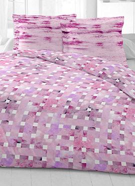 Lavender Cotton King Size Bed Sheet