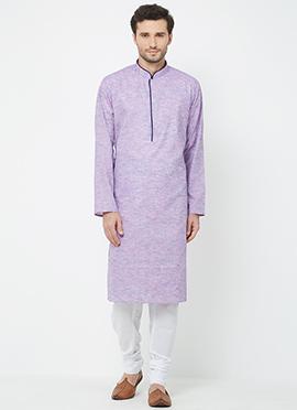 7963d713d0 Buy Lavender Color Kurta Pyjamas | Online Lavender Colour Kurta ...