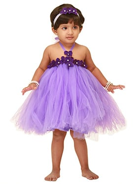Lavender Tulle Kids Tutu Dress