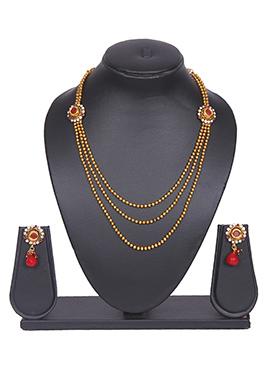 Layered Gold Tradisiya Necklace Set