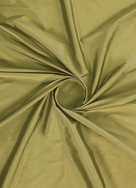 Lemon Curry Soft Silk Fabric