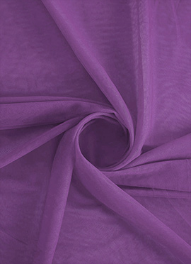 Light African Violet Net Fabric