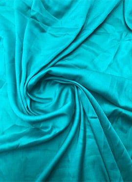 Light Blue Modal Satin Fabric