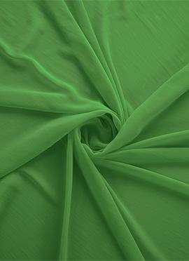Light Green Georgette Fabric