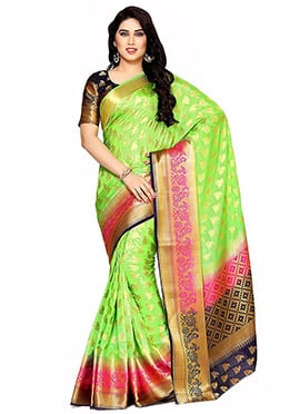 Light Green Kancheepuram Art Silk Saree