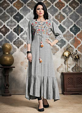 f9315b814a Ladies Long Kurtis - Buy Designer Long Kurtis Online Shopping