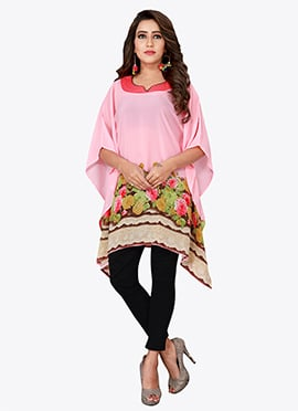 Light Pink Georgette Kaftan