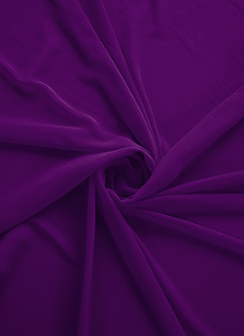 Light Purple Georgette Fabric