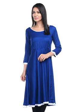 Lingra Blue Kurti