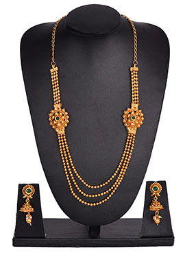 Long Layered Necklace Set
