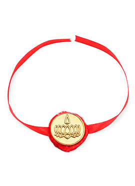 Lotus  Symbol Rakhi For Men