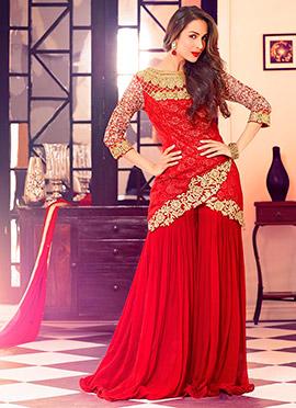 Malaika Arora Khan Net Palazzo Suit