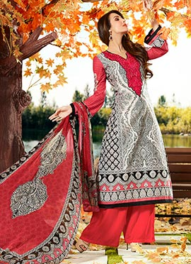 Malaika Arora Khan Tricolor Cotton Palazzo Suit