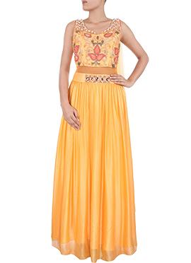 Marigold Yellow Lehenga Choli