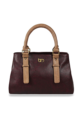 Maroon Bagsy Malone Hand Bag