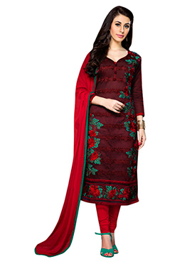 acef7c7a8d Online Trendy Churidar Suit | Indian Designer Trendy Salwar Kameez ...