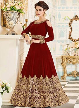392778727 Buy Indian Latest Designer Anarkali Salwar Suits Online- Cbazaar