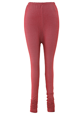 Maroon Lycra Leggings