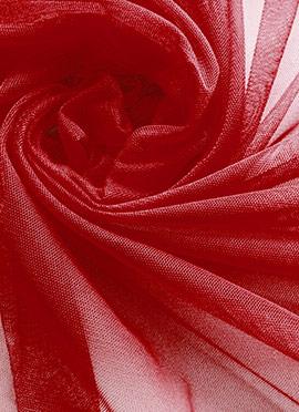 Maroon Net Fabric