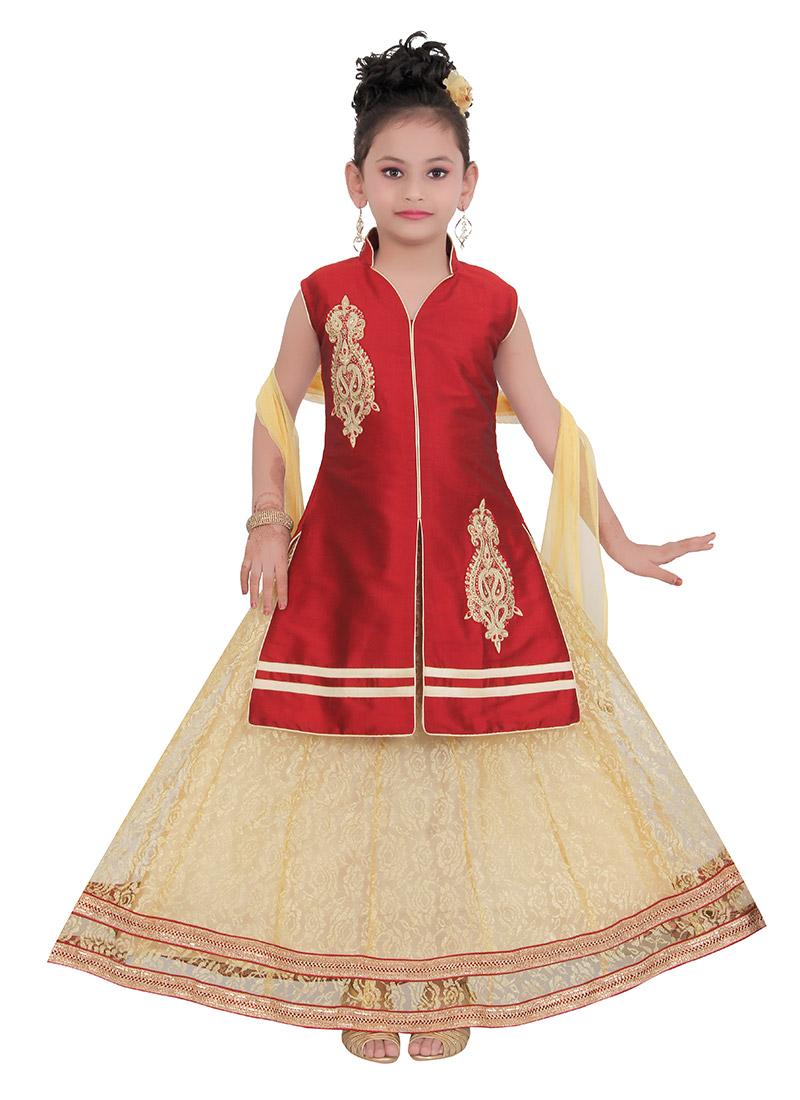 taffeta kids dress