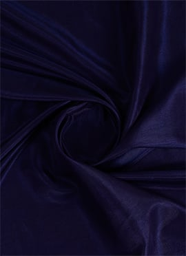Midnight Blue Art Silk Fabric