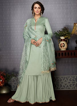 e3f39645 Sharara: Buy Salwar Kameez Sharara Suit | Online Wedding Sharara ...
