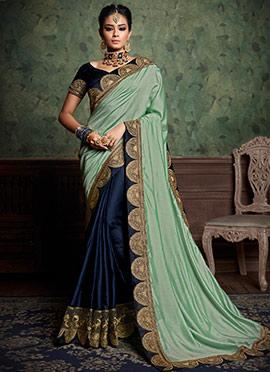6041ebfd5394 Shop Mehendi sarees online |Mehendi saree styles online | Buy ...