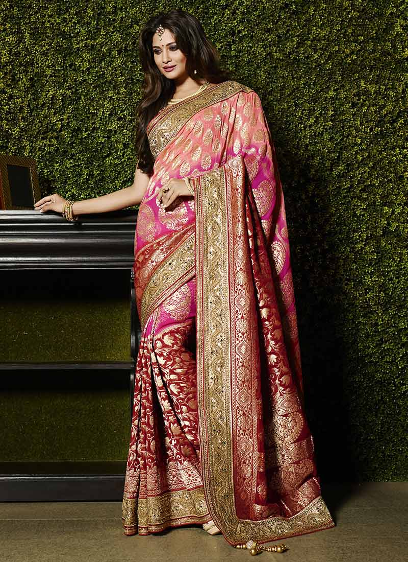 how to do mirror work on sarees