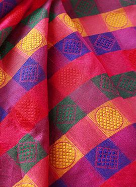 Multicolor Art Silk Blouse