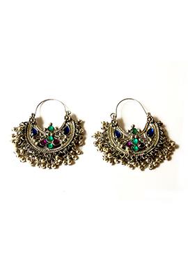 Multicolor Chaand Bali Earrings