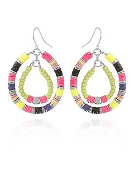 Multicolor Dangler Earring