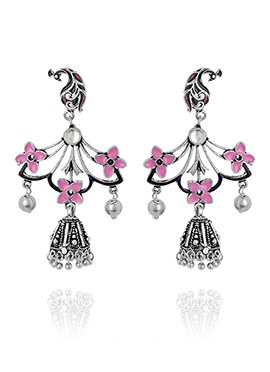 Multicolor Dangler Earrings