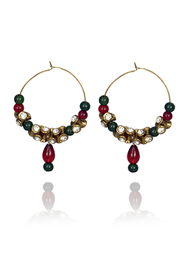 Multicolor Hoops Earrings
