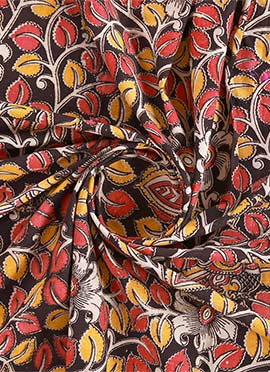 Multicolor Kalamkari Fabric
