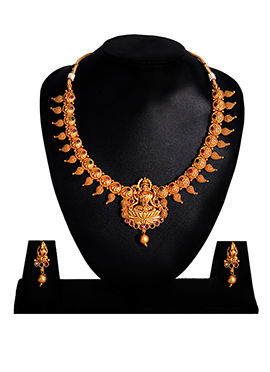 Multicolor Neckalce Set