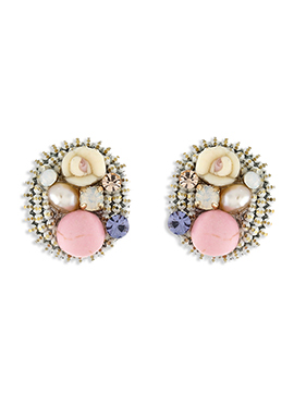 Multicolor One Stop Fashion Studs