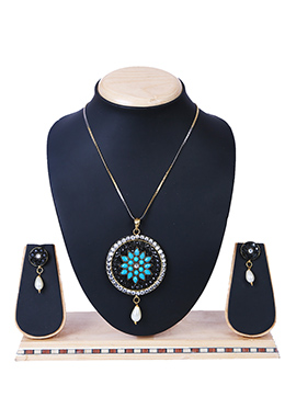 Multicolor Pendant Set