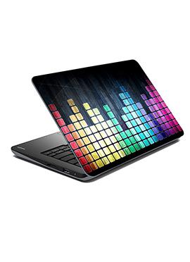 Multicolored Beats Laptop Skin