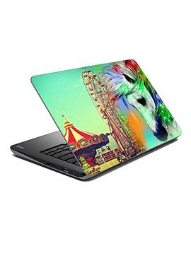 Multicolored Circus Laptop Skin