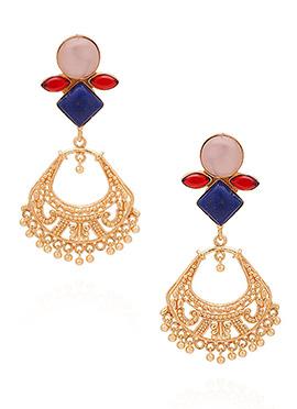 Multicolored Dangler Earrings
