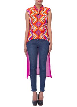 Multicolored Georgette Tunics