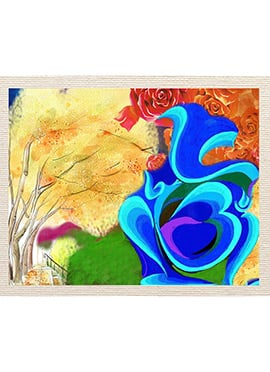 Multicolored Painting Canvas