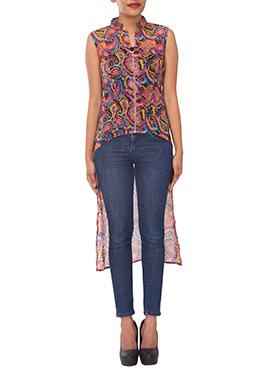 Multicolored Printed Tunics