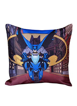 Multicolored Warner Brother Batman Cushion Cover