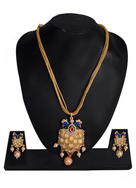 Multiicolor Necklace Set