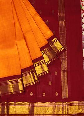 Pothys Pure Kanchipuram Silk Sare