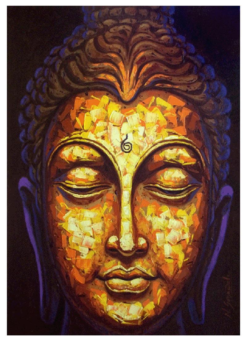 Buddha Face Wall Art - Elitflat