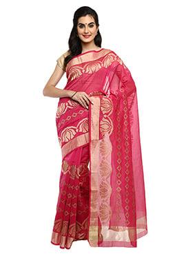 Mysore Blended Cotton Zari Woven Saree