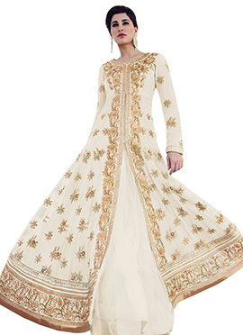 Nargis Fakhri Floor Length Anarkali Suit
