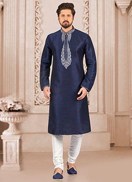 3a351194b3 Indian Kurta Pajamas for Men's | Buy Men's Kurta Pajamas Online